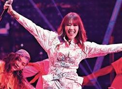 A-Lin第三次在小巨蛋开唱 拒助歌迷求婚有原因