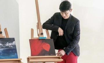 刘德华为32岁官方粉丝会庆生 晒与女儿合作画作