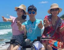 林志颖发长文谈妈妈和老婆 与妈妈相拥解多年心结
